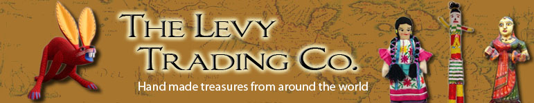 The Levy Trading Co.  Folk art, Toys, Clothing, Home decorative, Textiles, Purses, Jewelry around the world!